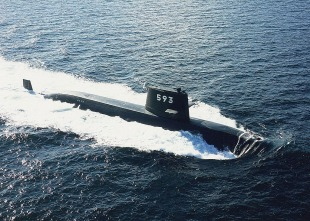 Diesel-electric submarine JS Makishio (SS-593) 0