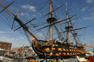 First-rate ship of the line HMS Victory 0
