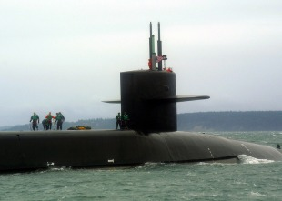 Nuclear submarine USS Michigan (SSGN-727) 2