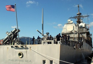 Guided-missile cruiser USS Philippine Sea (CG-58) 3