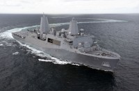 Amphibious transport dock USS Arlington (LPD-24)
