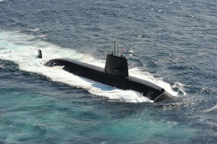 Diesel-electric submarine JS Isoshio (SS-594) 0