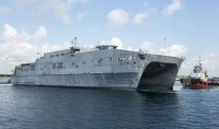 Expeditionary fast transport USNS Fall River (T-EPF-4)