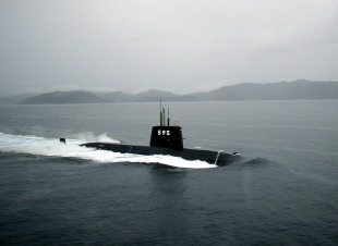 Diesel-electric submarine JS Narushio (SS-595) 0