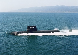 Diesel-electric submarine JS Isoshio (SS-594) 3