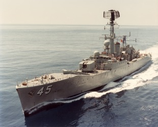 Destroyer escort HMAS Yarra (DE 45) 0