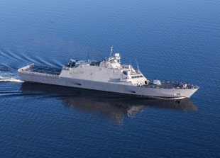 Littoral combat ship USS Sioux City (LCS-11) 0