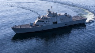 Littoral combat ship USS Sioux City (LCS-11) 1