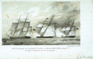 Frigate HMS Dolphin (1751) 2