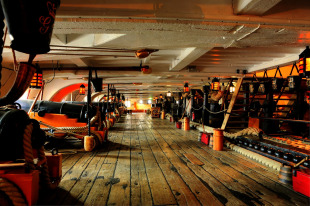 First-rate ship of the line HMS Victory 4