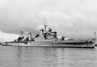 Light cruiser HMS Southampton (C83) 0