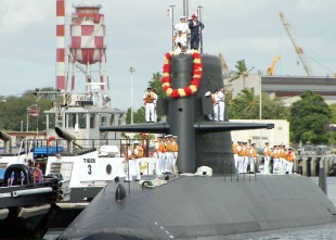 Diesel-electric submarine JS Narushio (SS-595) 3