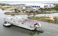Expeditionary fast transport USNS Trenton (T-EPF-5)