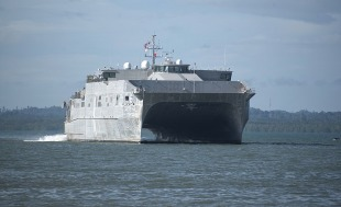 Expeditionary fast transport USNS Brunswick (T-EPF-6) 0