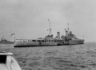 Light cruiser HMS Southampton (C83) 3