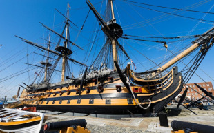 First-rate ship of the line HMS Victory 1