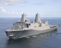 Amphibious transport dock USS Green Bay (LPD-20)