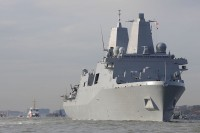 Amphibious transport dock USS New York (LPD-21)