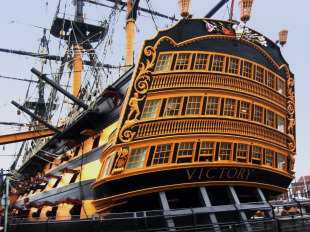 First-rate ship of the line HMS Victory 3