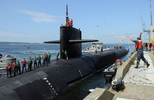 Nuclear submarine USS Michigan (SSGN-727) 1