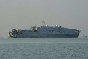 Expeditionary fast transport USNS Fall River (T-EPF-4) 1