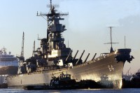 Battleship USS Wisconsin (BB-64)