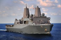 Amphibious transport dock USS New Orleans (LPD-18)
