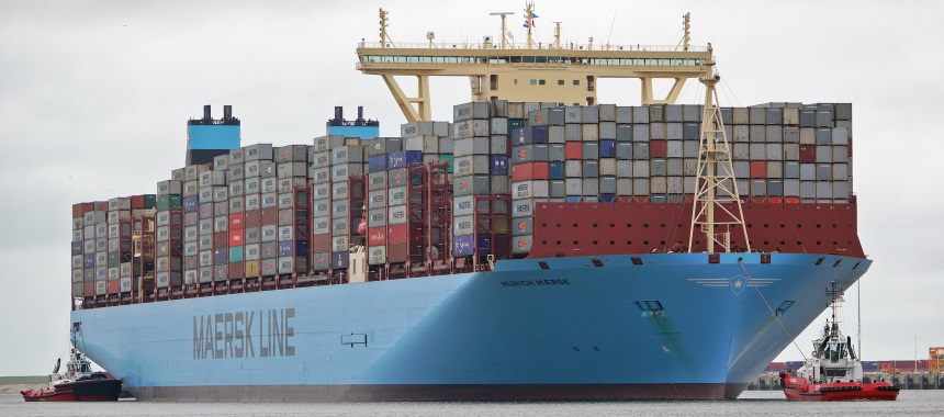 Container ship MUNICH MAERSK