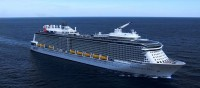 The new cruise ship Quantum of the Seas