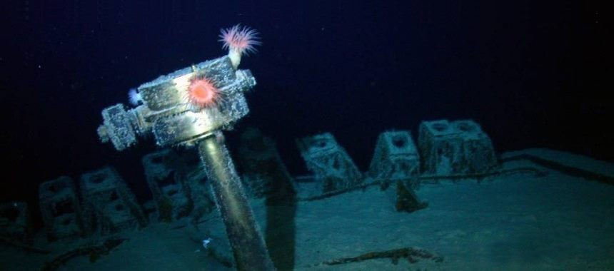 Company Odyssey Marine has found the second sunken ship with silver