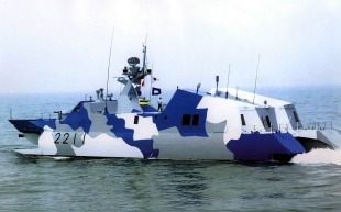 Houbei-class missile boat (Type 22) 6