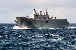 Juan Carlos I - class amphibious assault ship 3