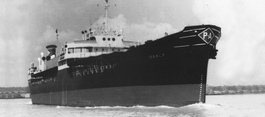 The first container ship SS Ideal X