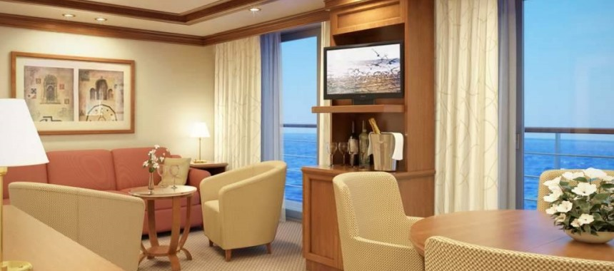 The cruise ship Silver Spirit Suite