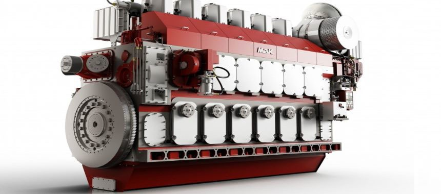 New marine engine MaK M46DF dual-fuel type