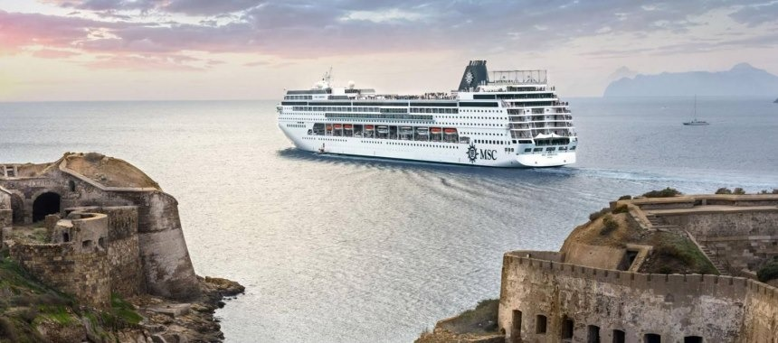Four MSC liners have become larger