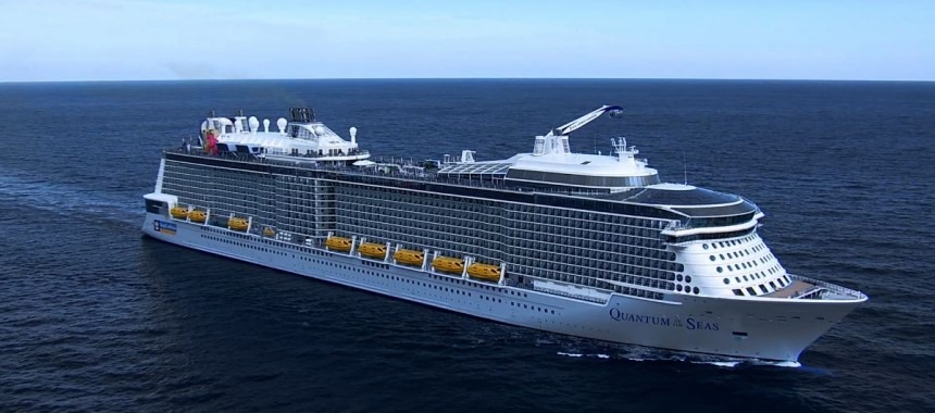 New cruise ship Quantum of the Seas