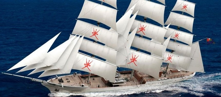 New sailer for the Royal Navy of Oman