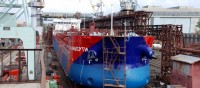 Kherson Shipyard launched the first ever Ukrainian tanker