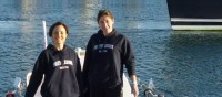 Two Frenchwomen crossed the Indian Ocean by boat