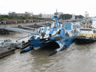Houbei-class missile boat (Type 22) 8