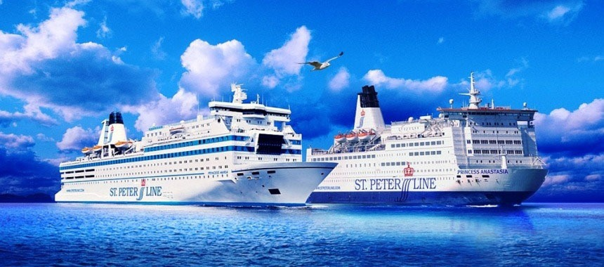 St.Peter Line gives veterans a free cruise to Finland