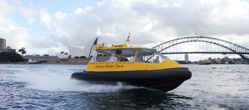 Water taxi in Sydney