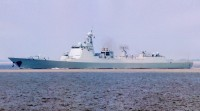 Guided missile destroyer Tangshan (DDG 122)