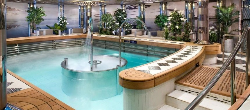Greenhouse Spa Salon Hydrotherapy Pool