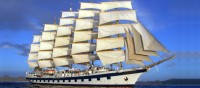 The biggest sailing ship in the world SV Royal Clipper