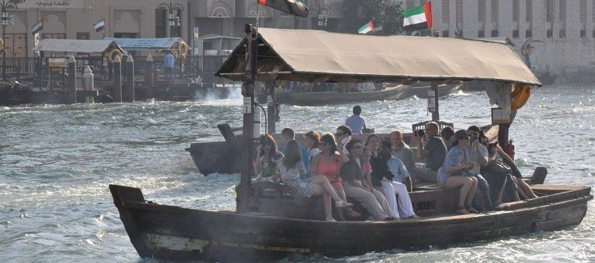 Water taxi in the United Arab Emirates