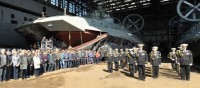 Ukrainian shipbuilders built an amphibious ship for China