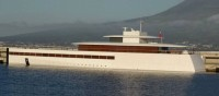 The yacht of Steve Jobs is completed