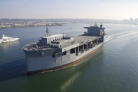Expeditionary sea base vessel USNS Miguel Keith (T-ESB-5)